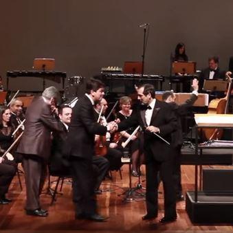 Brazilian Symphonic Jazz and Trio corrente play Entardecer and Baião Doce