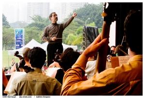 Maestro Galindo by Dani Gurgel, 2011, Ibirapuera Park
